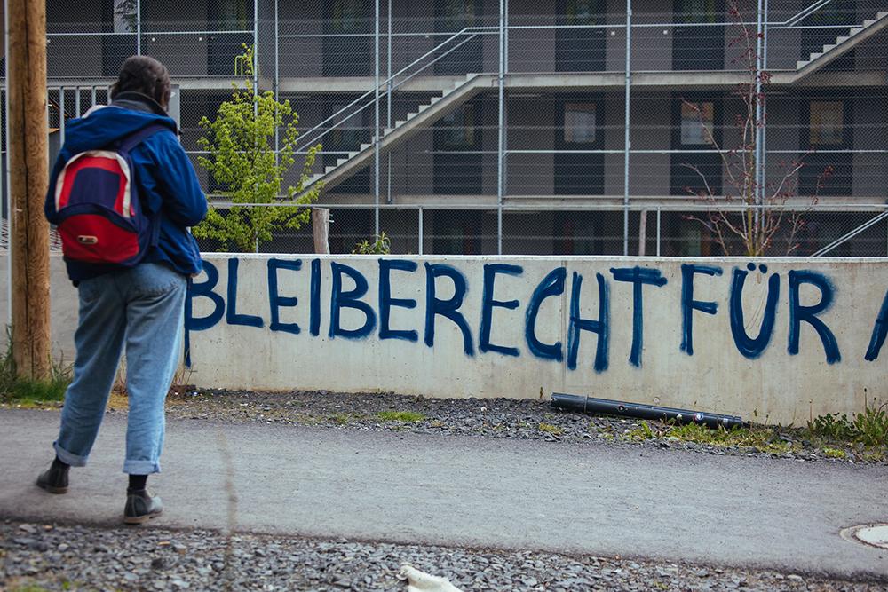 Graffiti am Universitätsplatz, Kassel